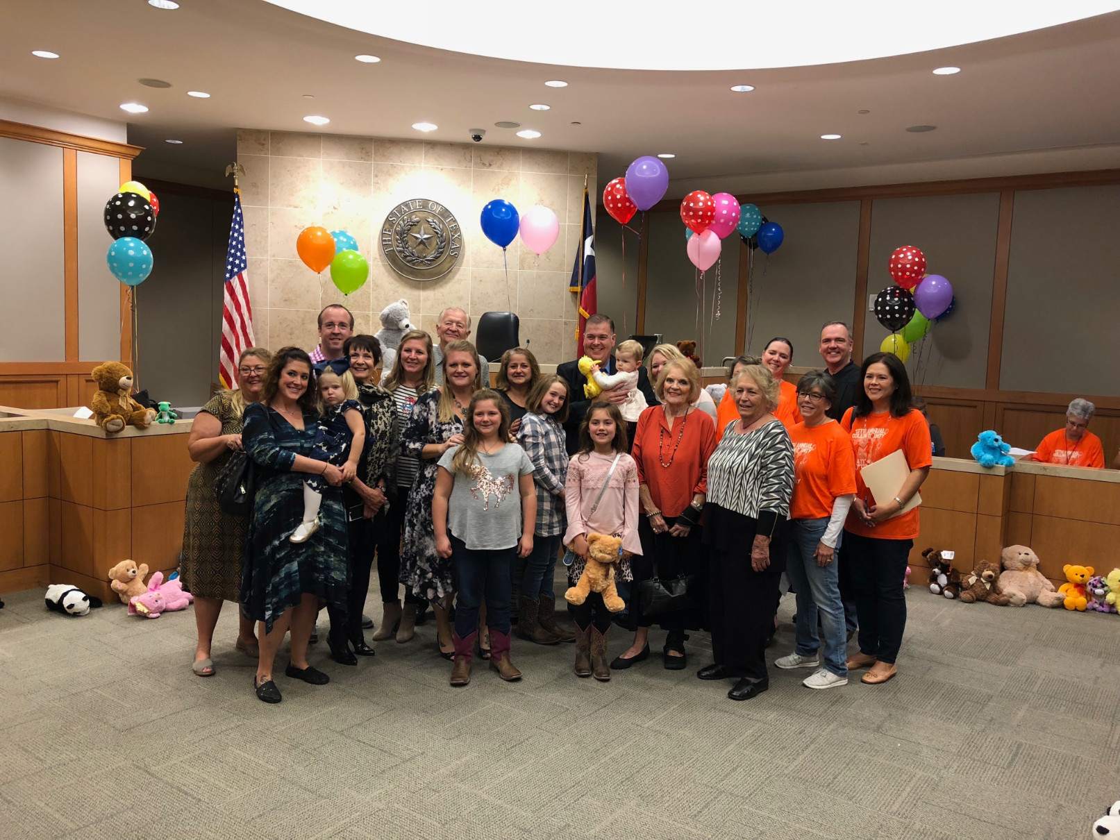 NATIONAL ADOPTION DAY | 296th District Court (Photo Gallery)